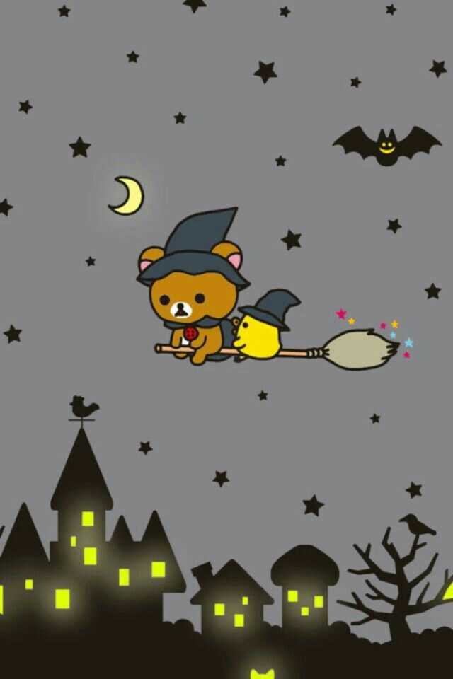 Rilakkuma Halloween Rilakkuma Wallpaper Hello Kitty Wallpaper Halloween Wallpaper