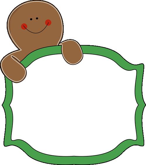 Free Gingerbread Clip Art Borders
