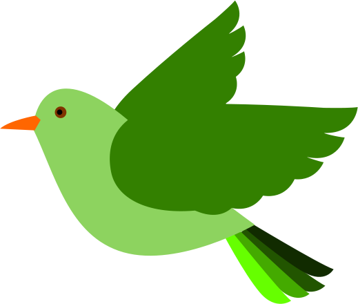 Green Bird Bird Clipart Clip Art Animal Clipart