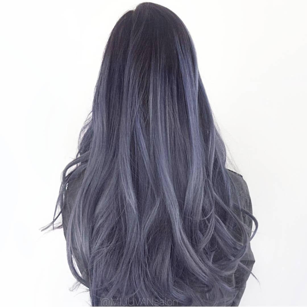"""Photo of james miju en Instagram: """"La punta del día"""" azul ceniza """"para mantener el color el mayor tiempo posible. No tienes que lavar tu vida cotidiana. Tal vez cada dos días o simplemente … """""""
