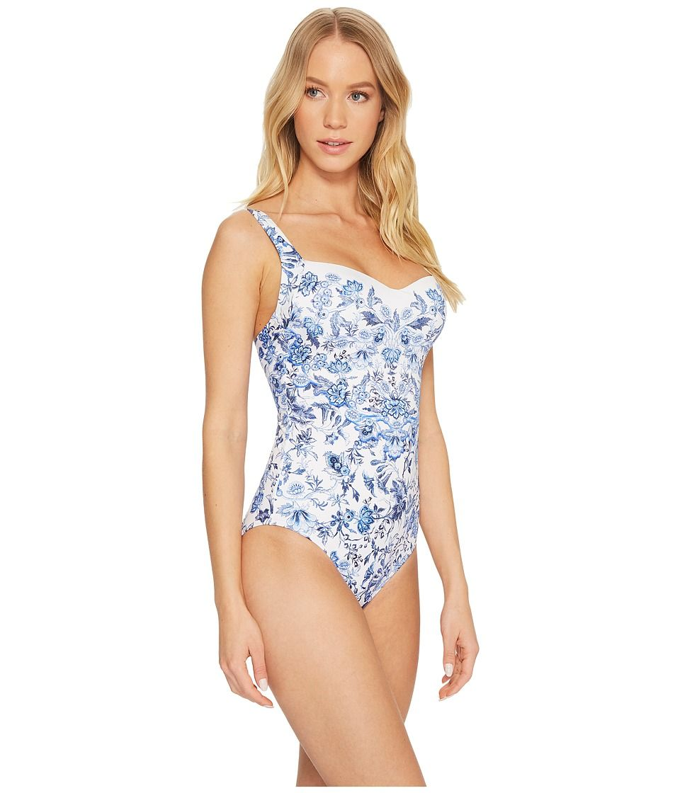 0c26e0a1055 JETS by Jessika Allen Provence Infinity One-Piece Women's Swimsuits One  Piece Floral