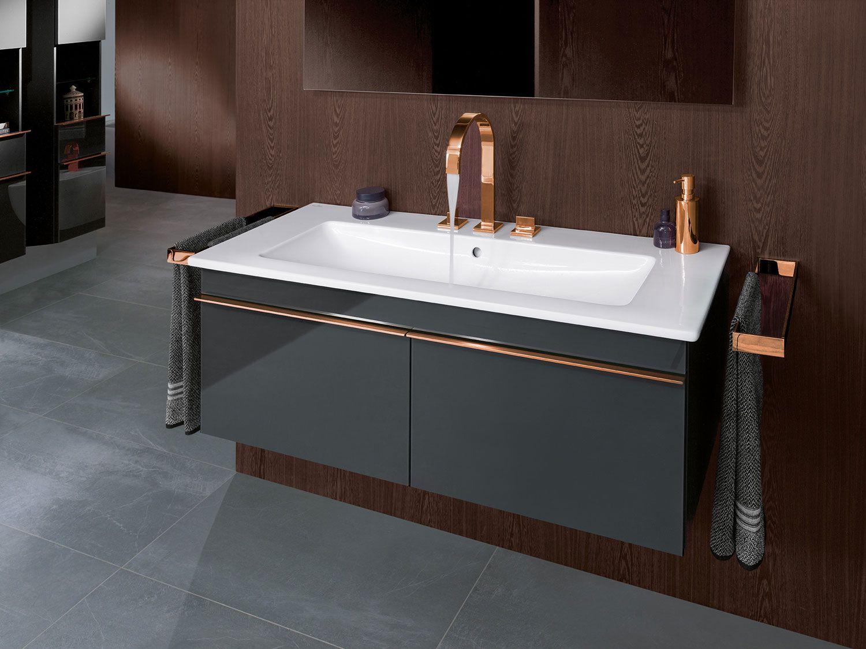 Bathroom Inspiration By Villeroy Boch Collection Venticello Badezimmerwaschtisch Badezimmer Gestalten Badezimmer Innenausstattung