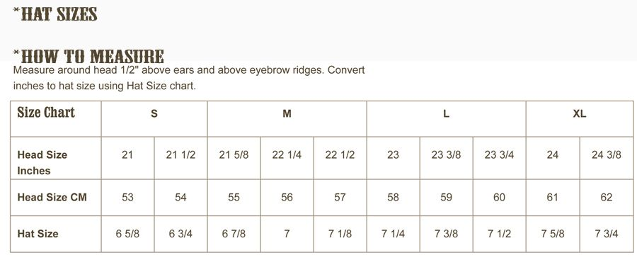 Http Www Yeehawcowboy Com Media Cowboy Hat Size Chart How To Measure Cowboy Hat11 Jpg Hoofddeksels