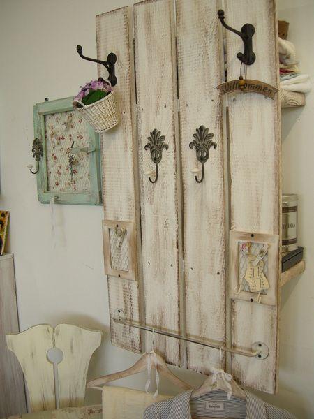 Die* Universal-Shabby-Garderobe* von Atelier-Nr13  - diy garderobe