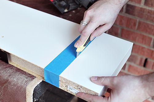 how to install ikea lack shelf