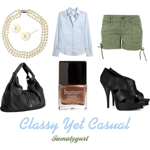 Casual Yet Classy, created by alygurl on Polyvore