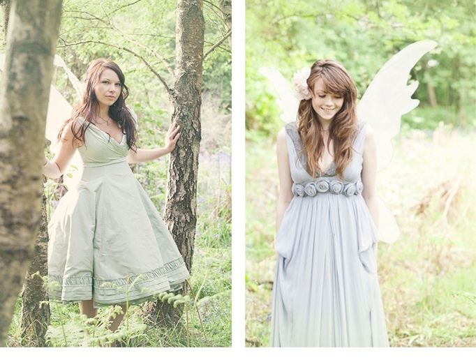 woodland fairy photo shoot by Clare West Photography, as seen on ...