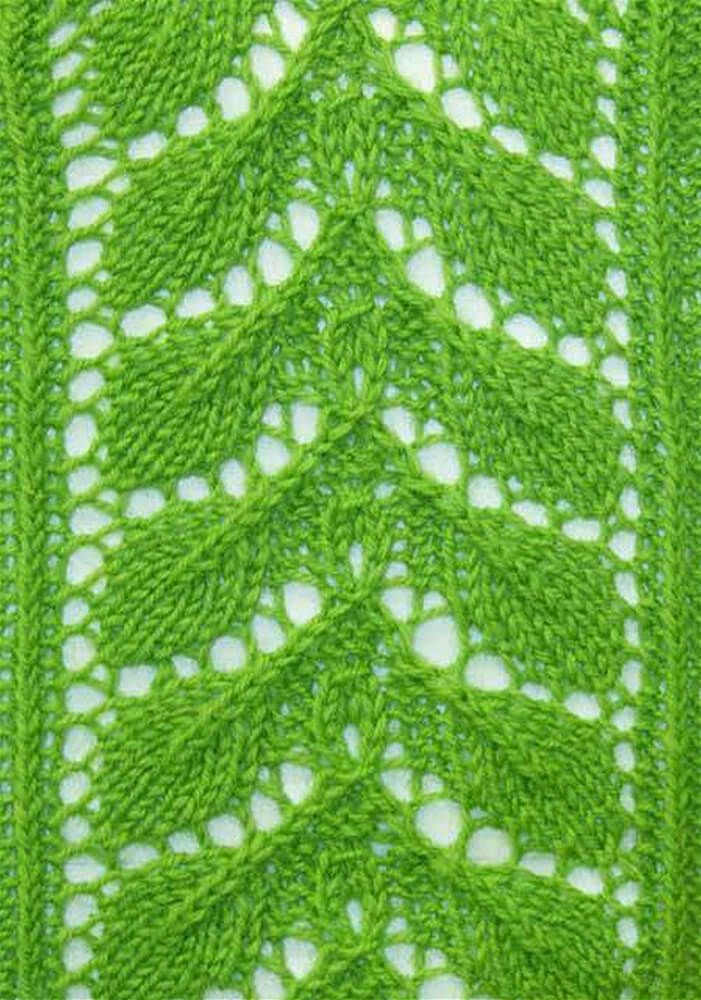 Reason With Leaf Cool Knitting Pattern Knit Pinterest Knitting