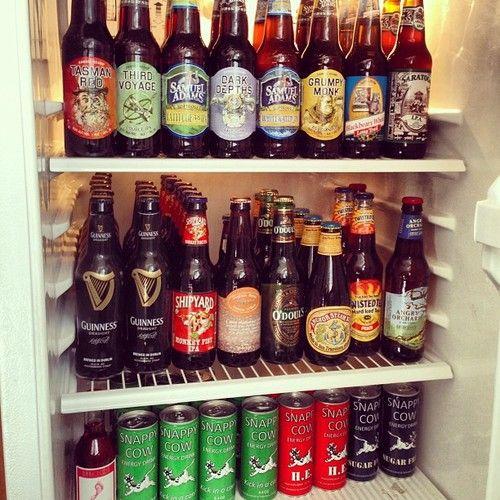 Organization Haha This Reminds Me Of My Dad S Refrigerator Fridge Organization Beer Fridge Neat Tricks