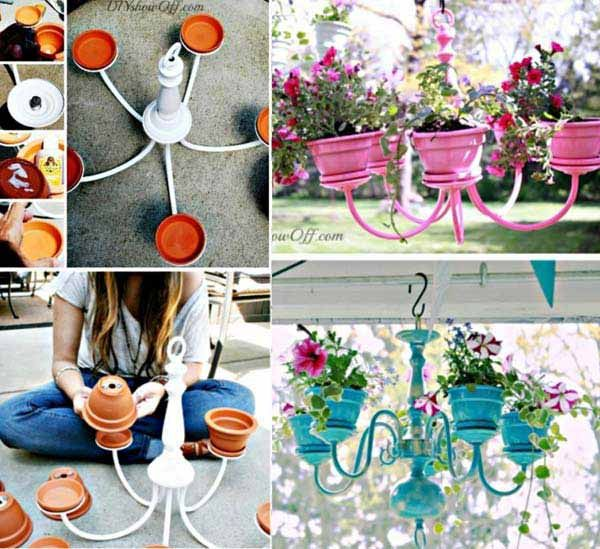 Diy Flower Gardening Ideas And Planter Projects: 25+ Budget-Friendly And Fun Garden Projects Made With Clay
