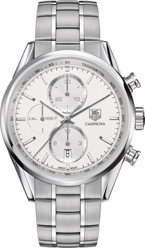 Tag Heuer Carrera Chronograph Calibre 1887 Automatic Men's Watch CAR2111.BA0724