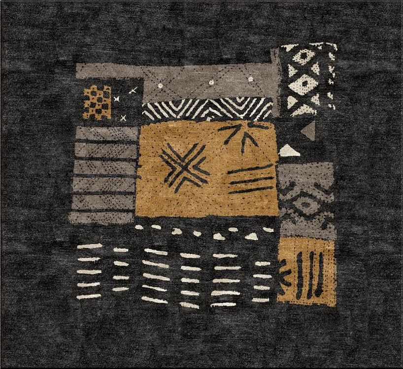 African Mud Tile High Country Rugs