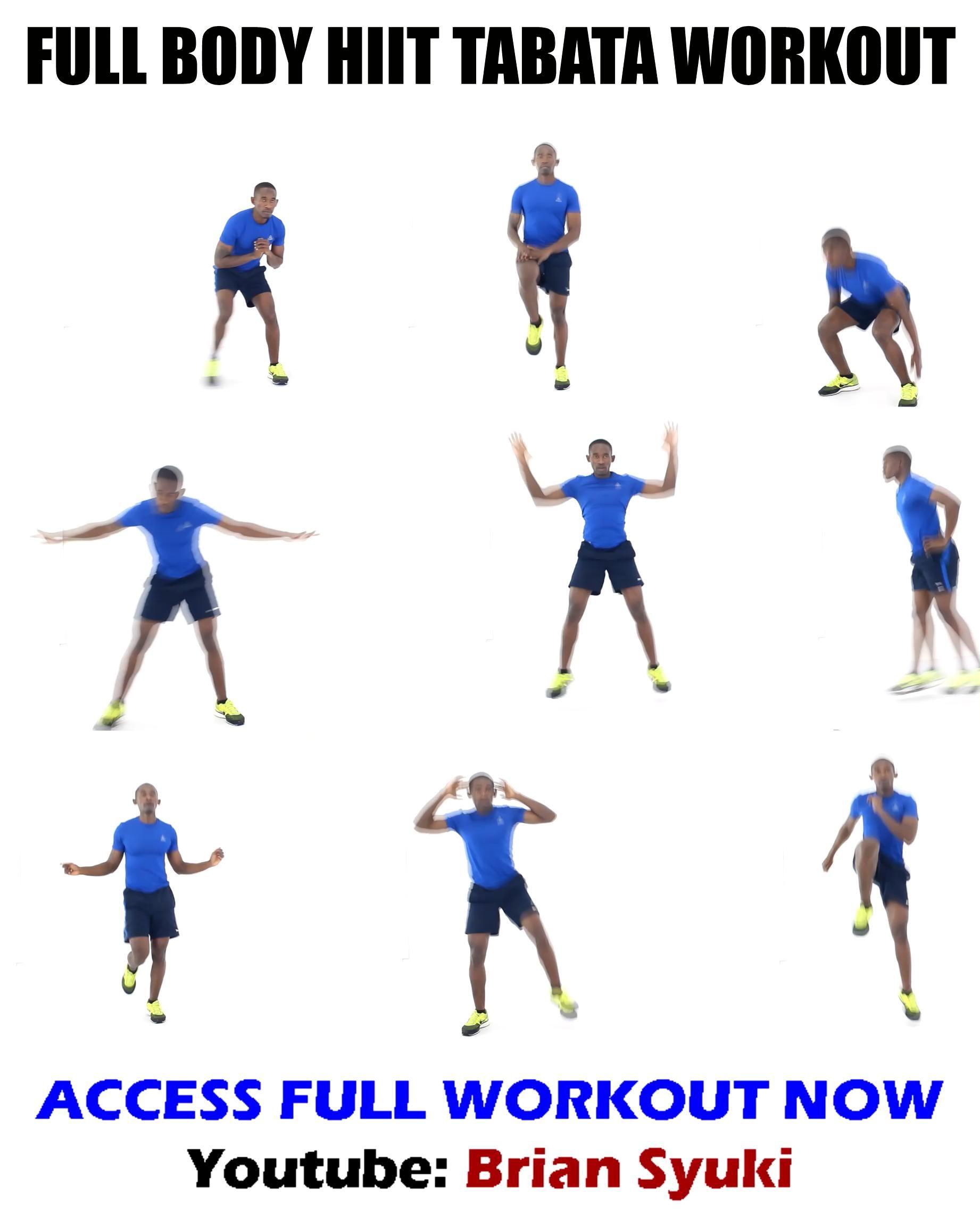 Full Body HIIT Tabata Workout