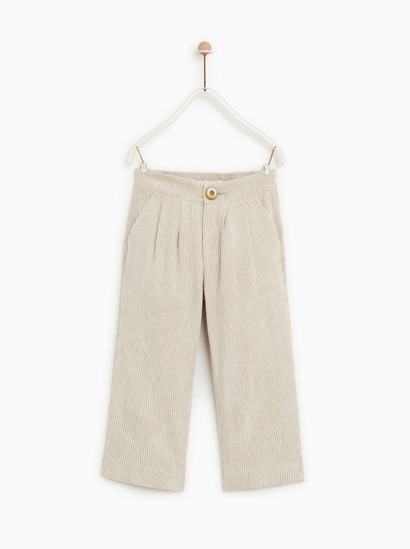 bambini White Long Pants