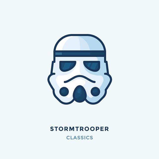 Classic Stormtrooper Helmet Check Out Collection Of The Best Helmets Icons And Illustrations On My Blog Link In Bio