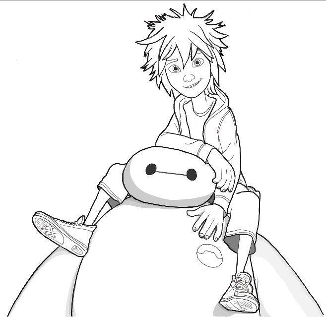 The Best Drawing Pictures Of Big Hero 6 Pictures