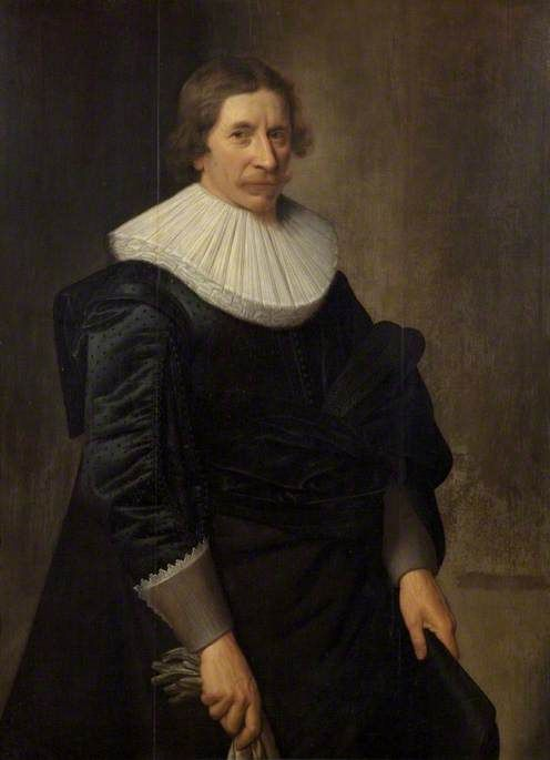Nicolaes Eliasz. Pickenoy - Portret van een onbekende heer (1620)
