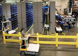 wave warehouse machine