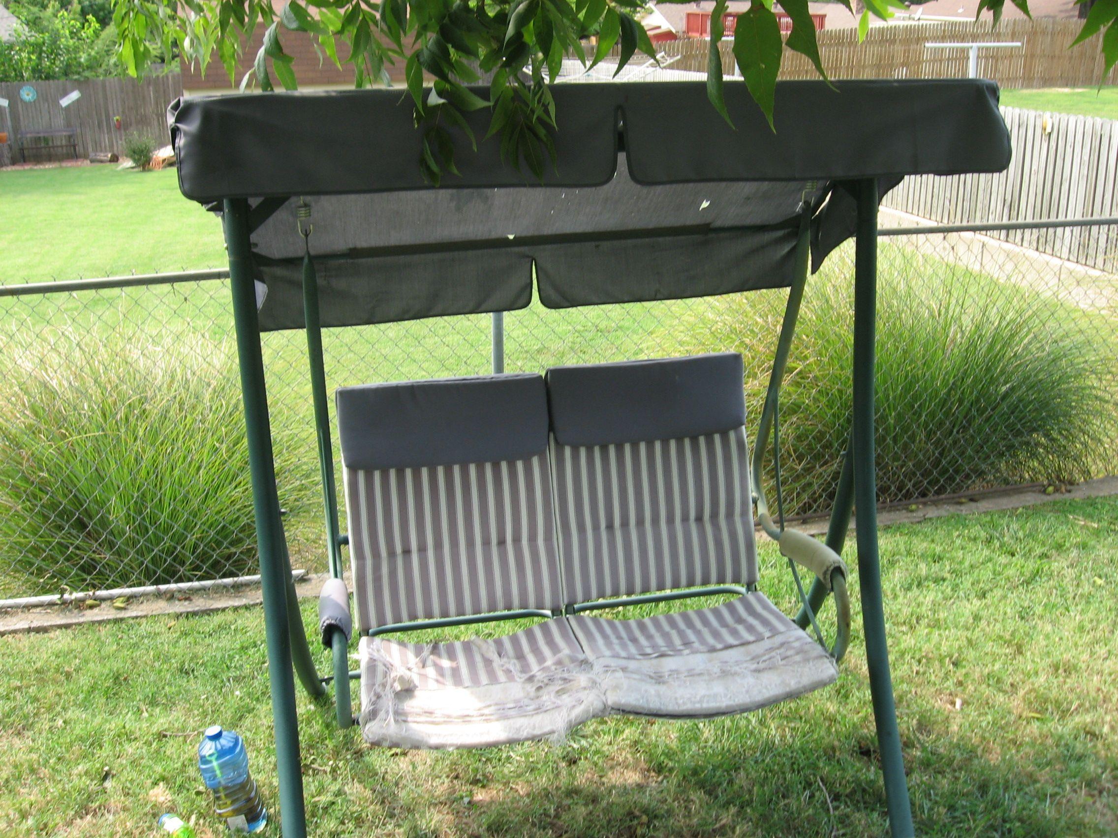 Swing Cushion Covers, End of Summer Sale! Sunbrella Fabric