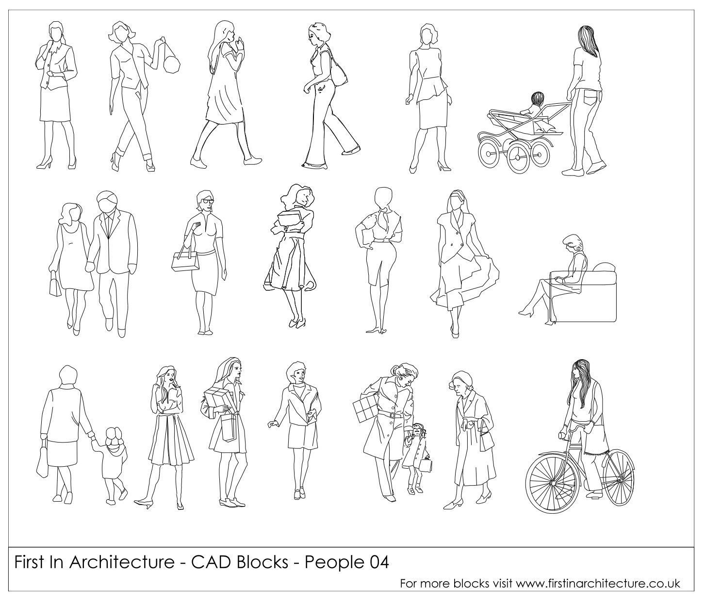 Bedroom Chair Cad Block Childrens Chairs With Arms 2 Free Blocks People 04 Autocad File Pinterest