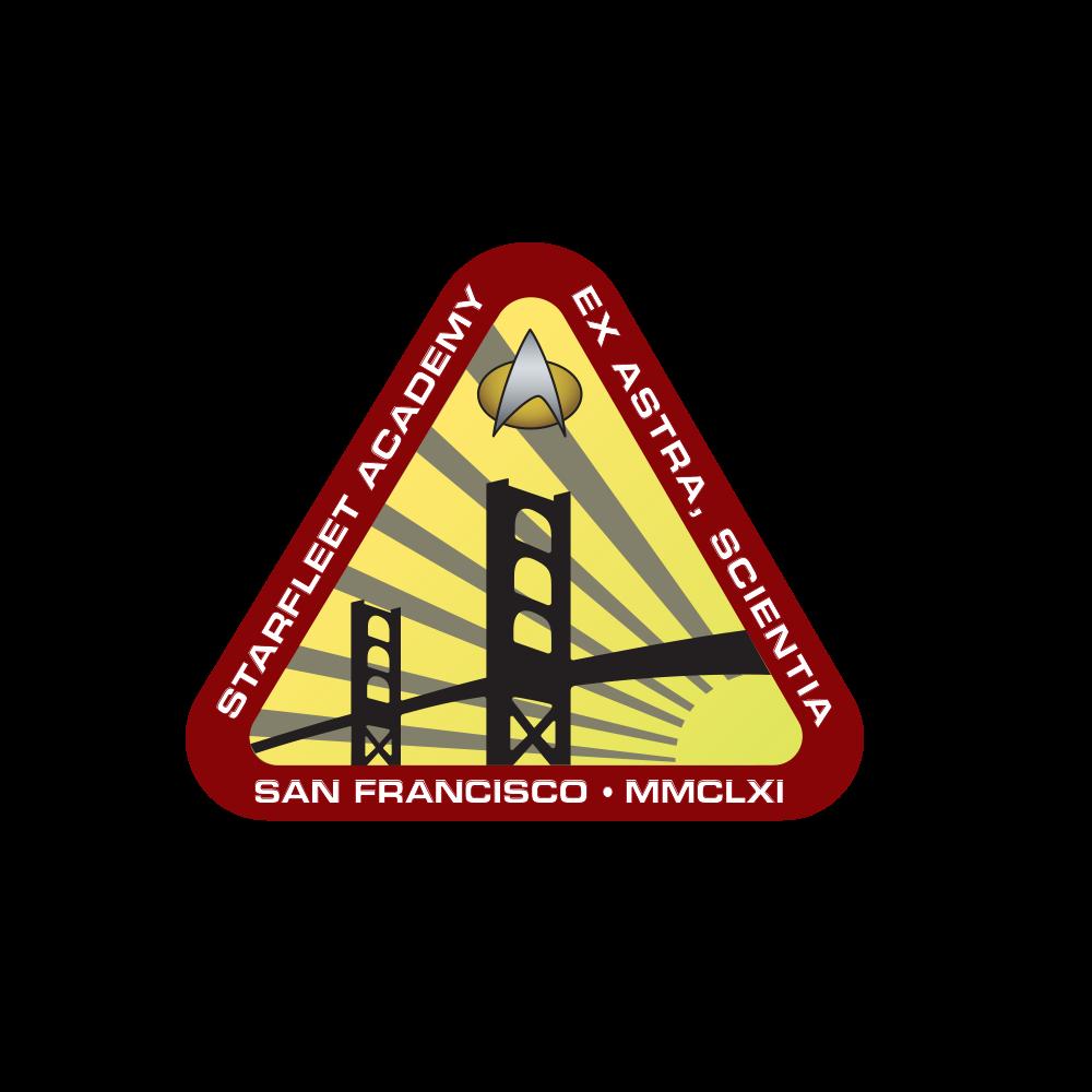 Starfleet Academy 2360s Star trek symbol, Watch star