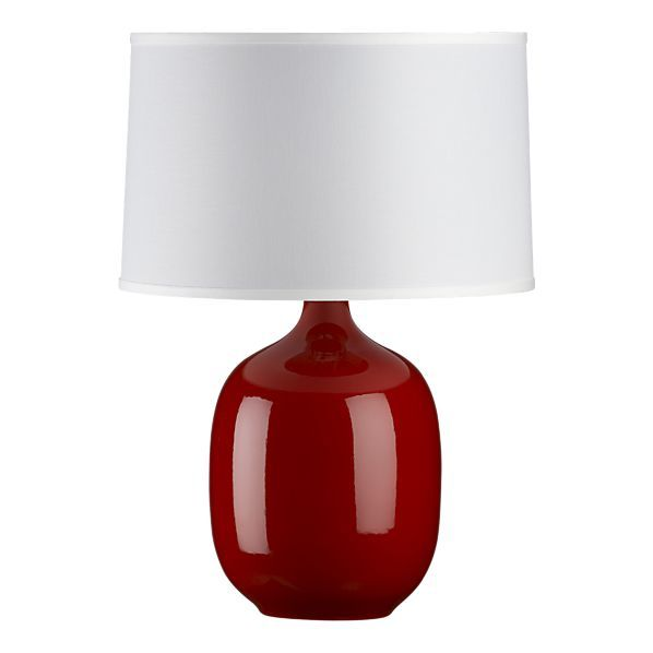 Pin By The Swanky Bow On Something Red Lamp Table Lamp Red Table Lamp