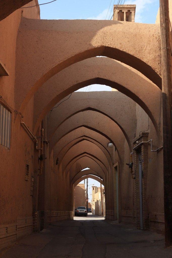 Street in Yadz., Iran