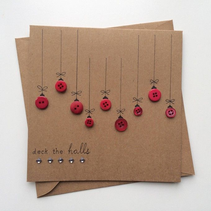 Gosto Disto!: 25 Cartões de Natal feitos à mão par