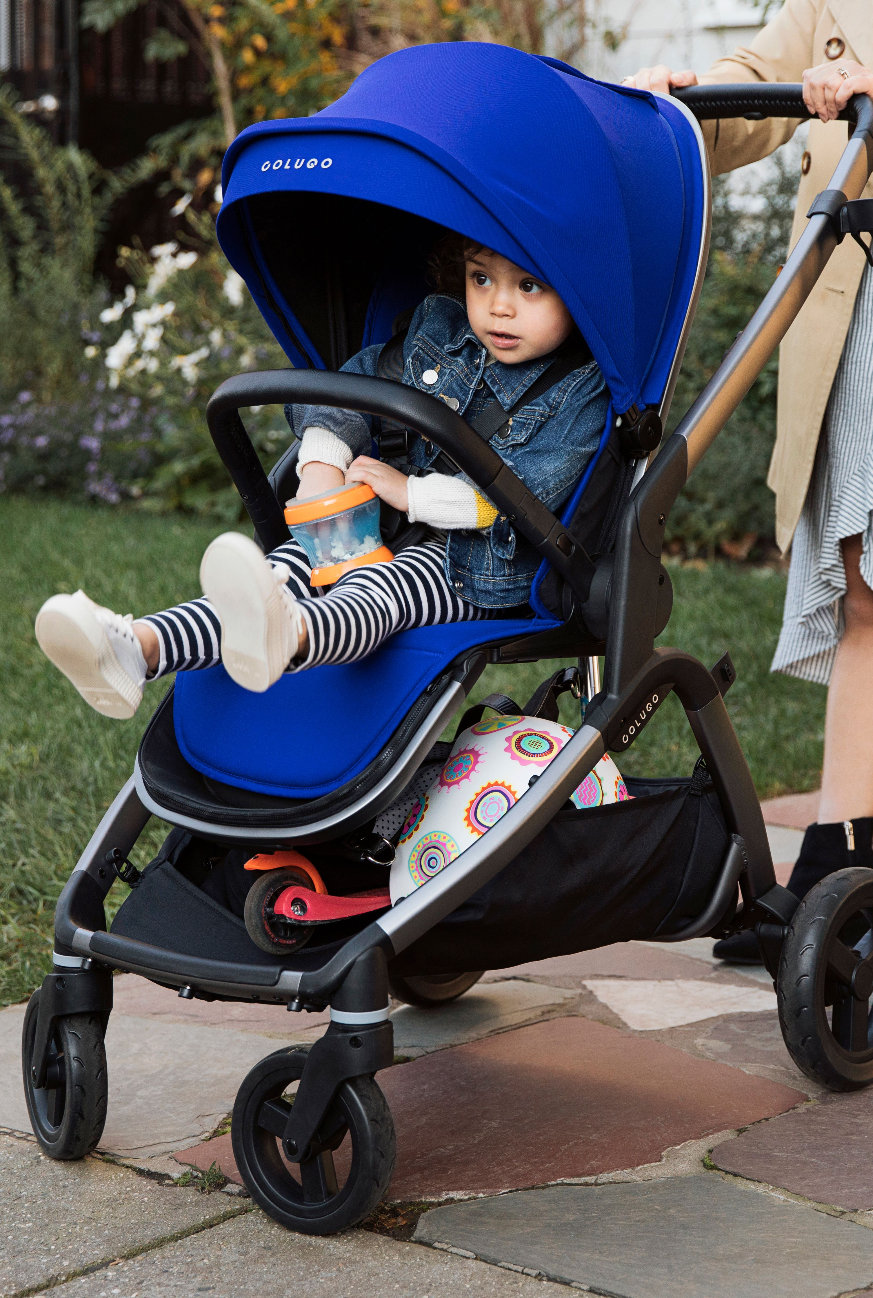 The Complete Stroller Deep Blue Baby shop, Cool baby