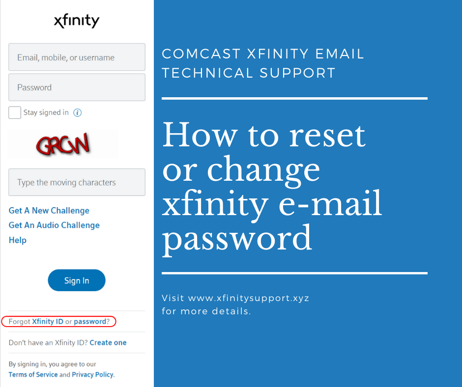 How To Change Or Reset Your Xfinity Account Password Xfinity Passwords Reset