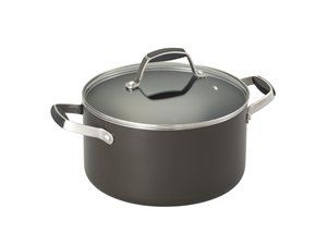 Black 5.5-qt. Nonstick Round Dutch Oven by Guy Fieri at Cooking.com #holidaycooking