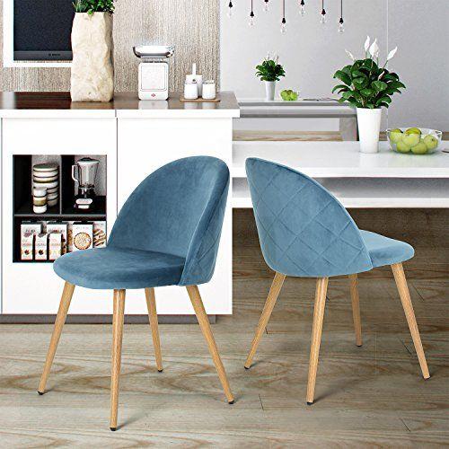 sillas de comedor juego de mesa cojín asiento y el respal https