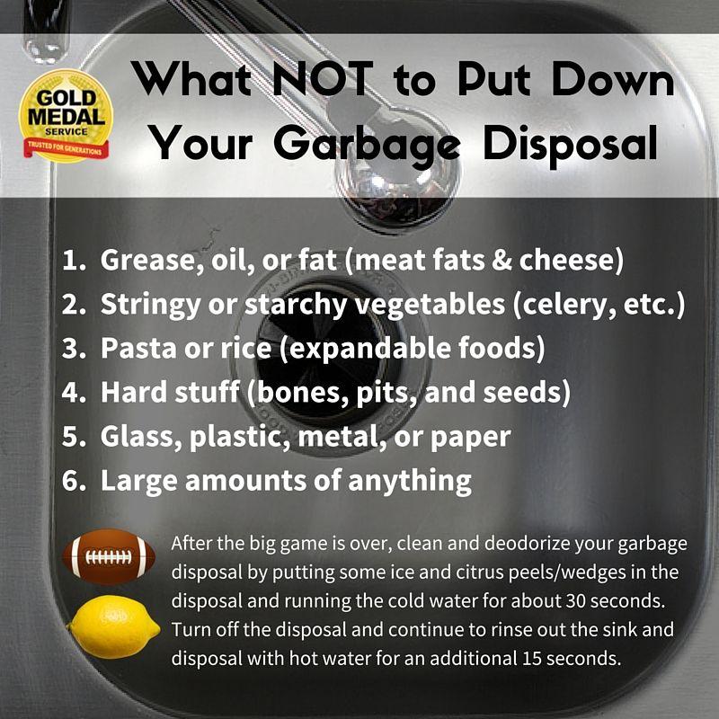 Garbage Disposal Dos And Don Ts Garbage Disposal Natural