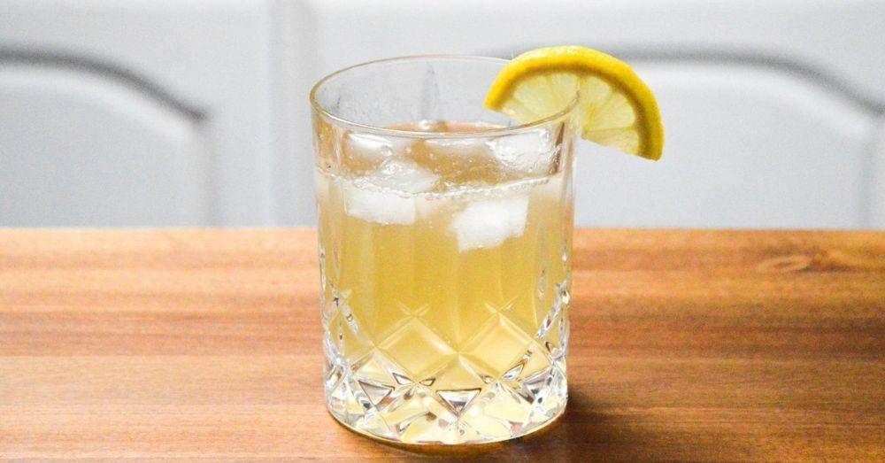 drink ingefära gin