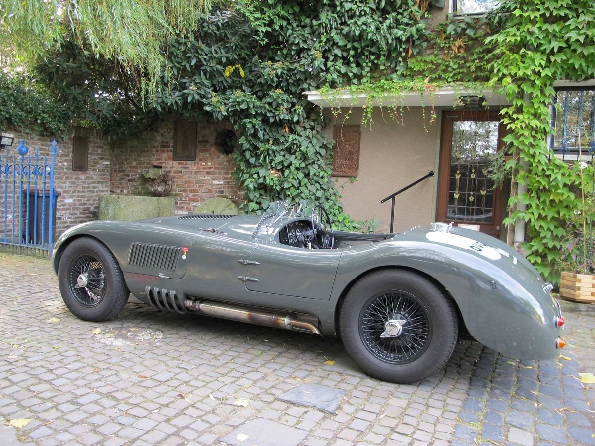 jaguar c type race cars oldtimer oldtimer autos. Black Bedroom Furniture Sets. Home Design Ideas