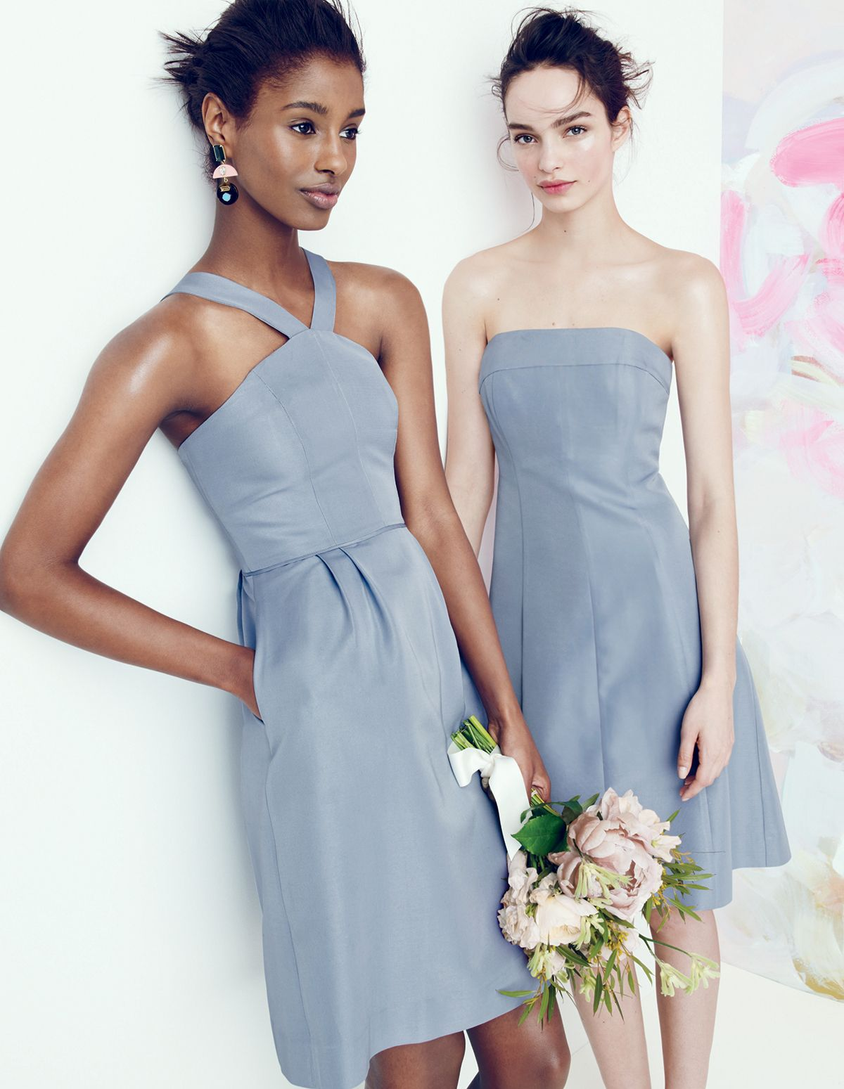 Crew Offers Elegant Wedding Party Dresses For August Style Guide