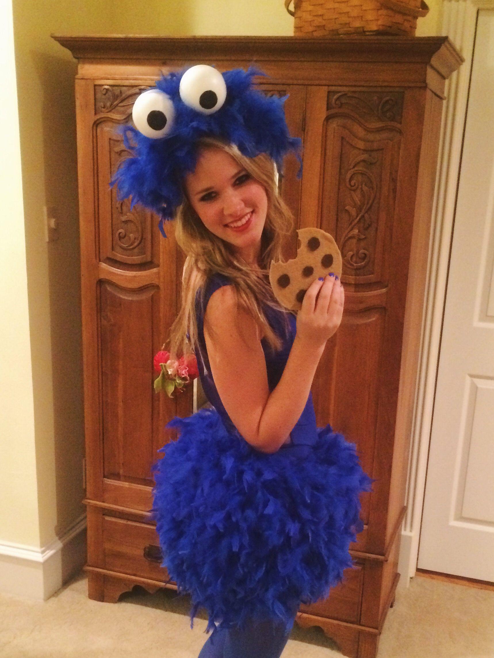 Cookie Monster Kostuem.Diy Cookie Monster Costume Cookie Monster Costume Monster Costumes Cookie Monster Halloween Costume