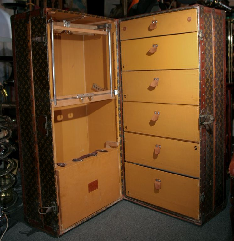 Vintage Louis Vuitton Steamer Trunk | From a unique collection of ...