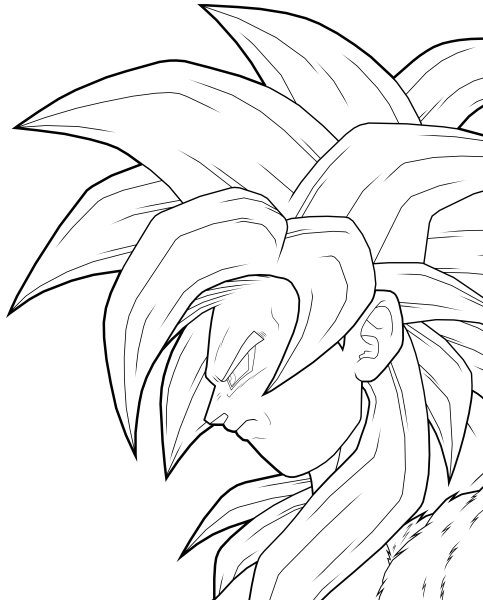 free coloring pages of baby goku | m | Pinterest | Goku, Babies and Free