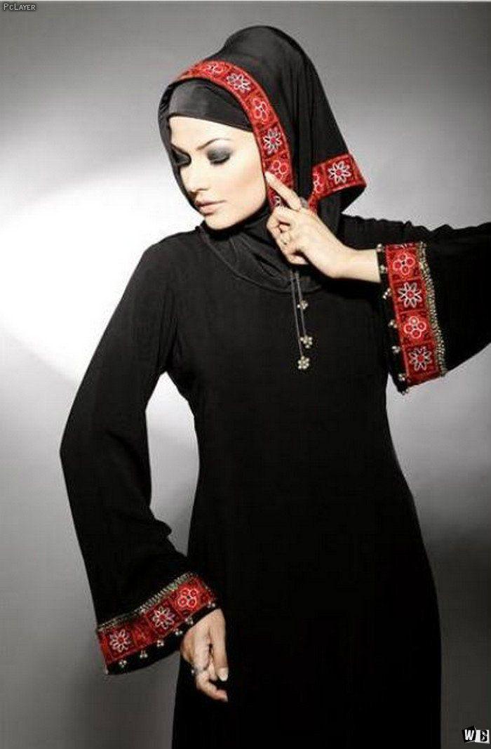 عبايات دبي 2015 صور عبايات 2015 خليجية سوداء اجمل عبايات خليجيه Arabic Clothing Fashion Islamic Clothing
