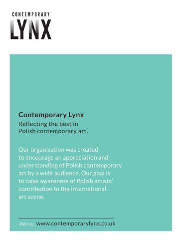 Contemporary Lynx Flyer, design marzena Wilk, March 2014
