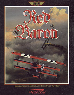 Red Baron 1990 Video Game Wikipedia In 2020 Red Baron Classic Video Games Retro Gaming Art