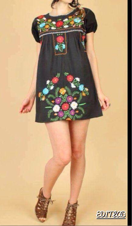 fantastic outfit vestido mexicano 16