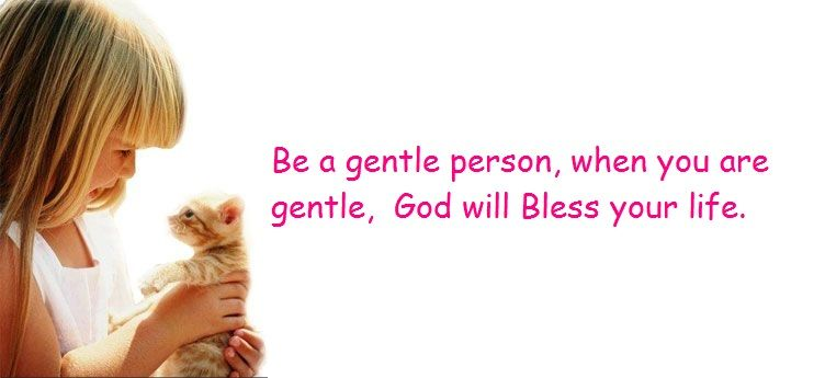 The Strength Of Gentleness https://youtu.be/aqnBqHS4xPoentleness  -