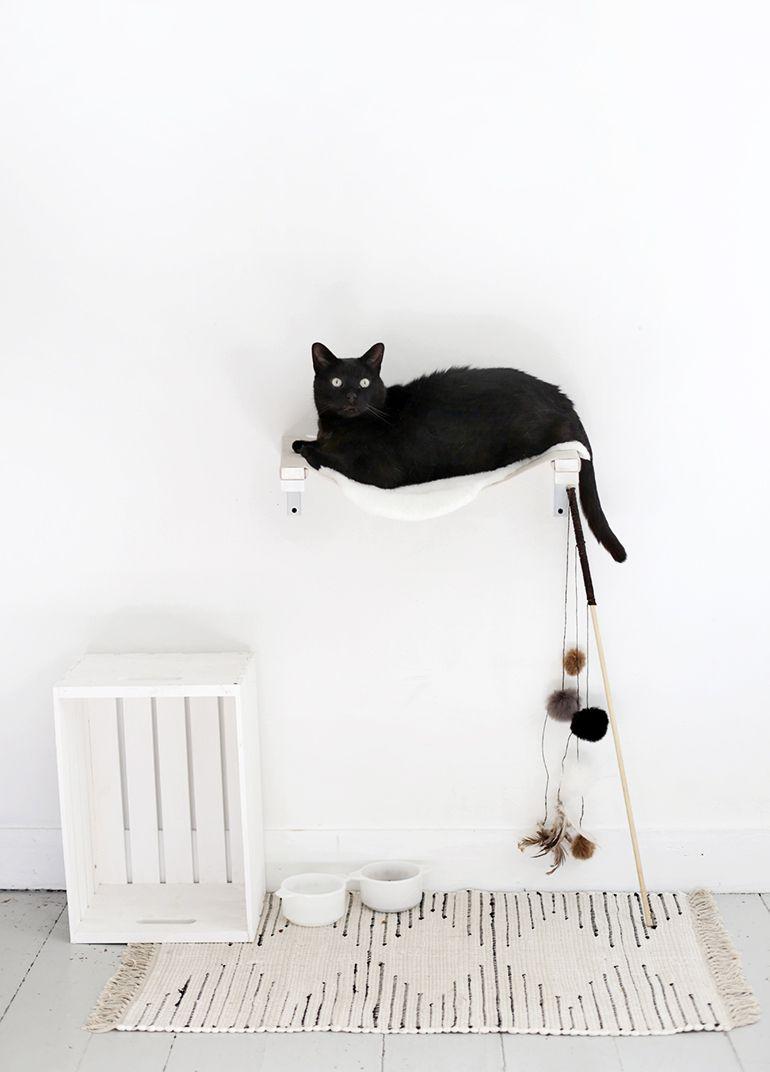 Diy Cat Hammock In 2020 Diy Cat Bed Diy Cat Hammock Cat Hammock