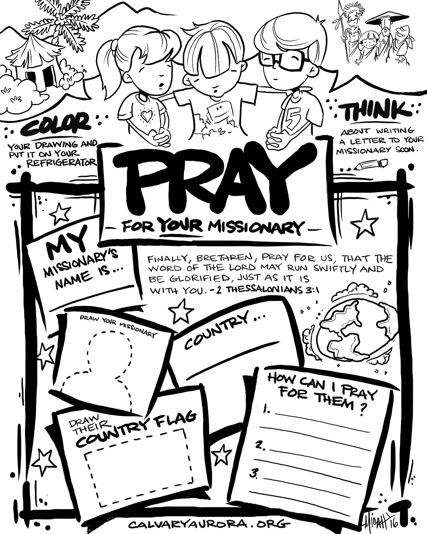 Matthew 17 The Transfiguration Sunday School Coloring Pages: The ... | 2125x1700