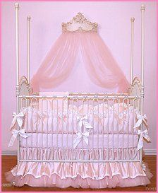 Baby Girl Princess Crib Bedding Sets | skillseeker