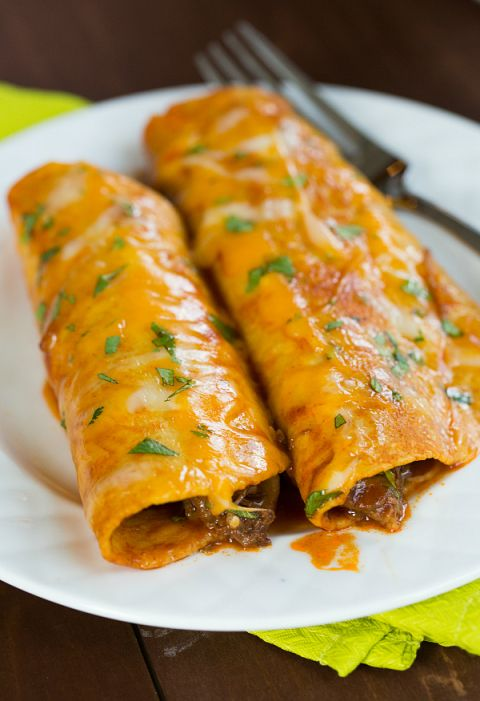 The Best Authentic Beef Enchiladas Brown Eyed Baker Recipe Mexican Food Recipes Authentic Mexican Food Recipes Recipes