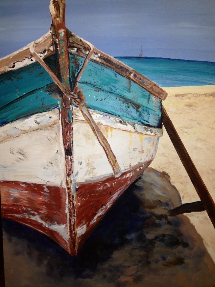 Home Con Imagenes Pinturas Arte Barcos