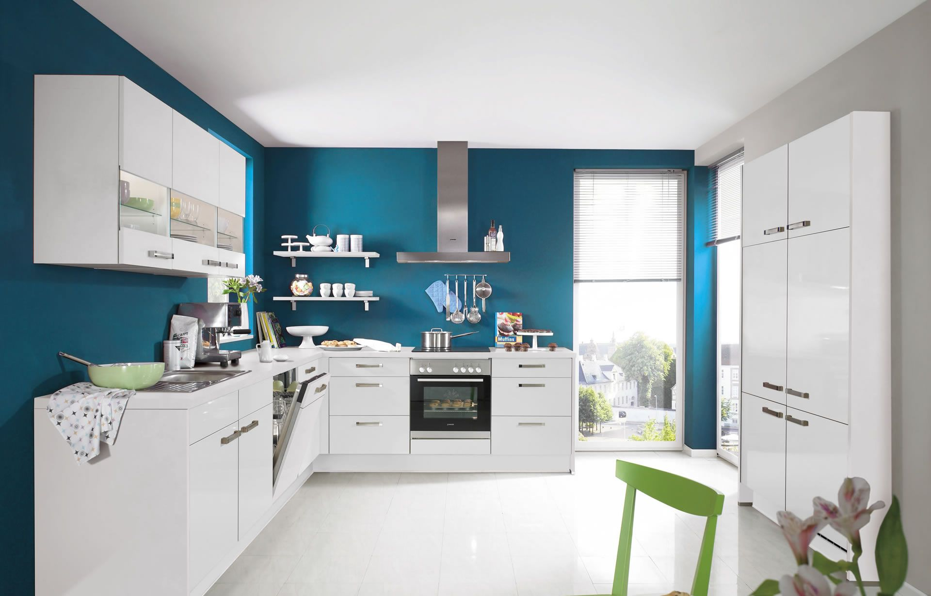 nobilia Küchen - Produkte - Küchengalerie - Weiß | Küche/Esszimmer ...